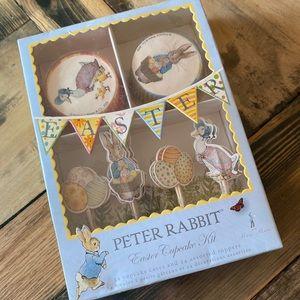 NIB Peter Rabbit Easter Cupcake Kit 24 Piece